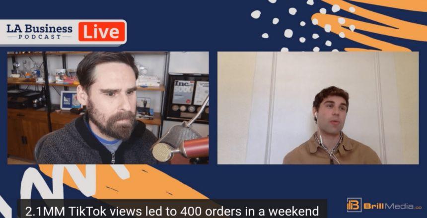 LA Business Podcast - Jacob Zander, Founder & CEO of FootSouls